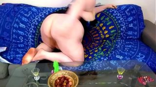 BBW impregnated by alien worm – LAYS 13 EGGS! full version available