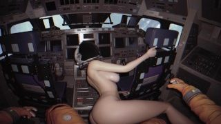 SPACE DIARIES_Sex in Space shuttle with beautiful astro girl