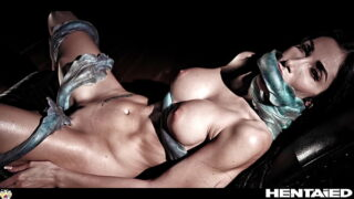 Real Life Hentai – Beauty Model fucked by Alien Monster and Creampied with Ton of Cum