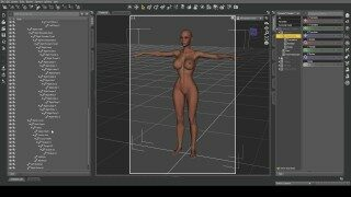 Affect3D Tutorial Series: Intro to Daz 3D – Learn to make 3D porn